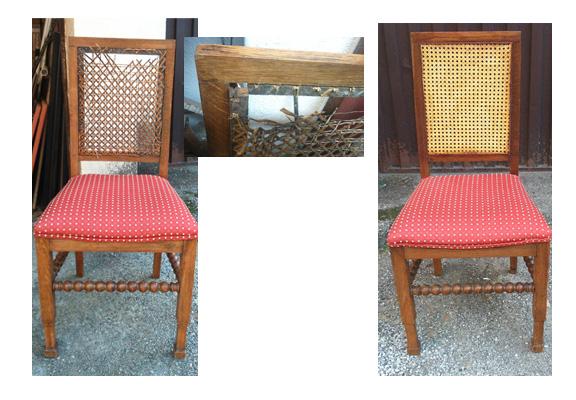 Reparacion de sillas de rejilla top se repasa la parte - Reparacion de sillas de rejilla ...